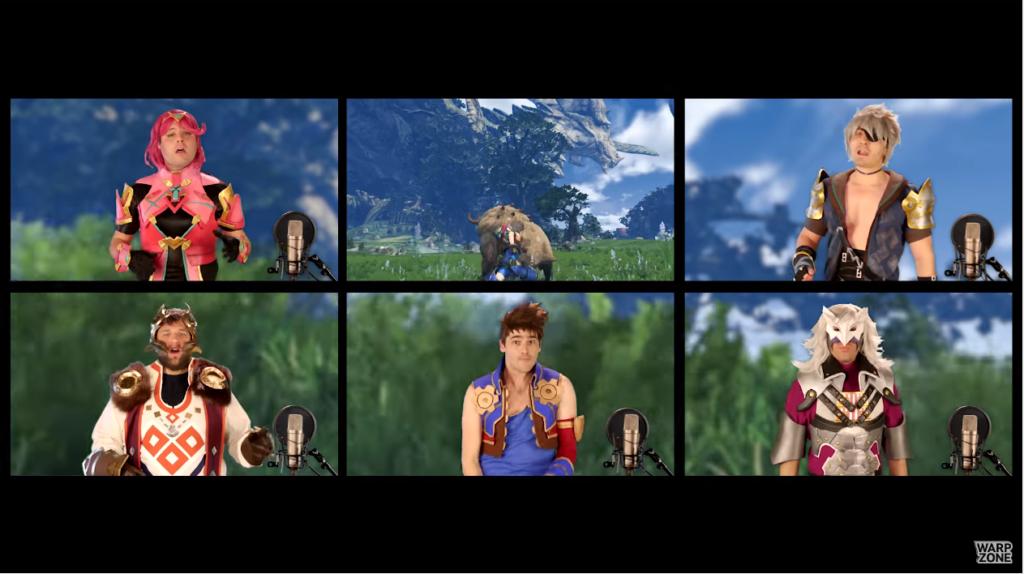 【話題】『ゼノブレイド2』のBGMをアカペラで再現した海外の動画が話題に!思ってたより本格的ですげぇなwww