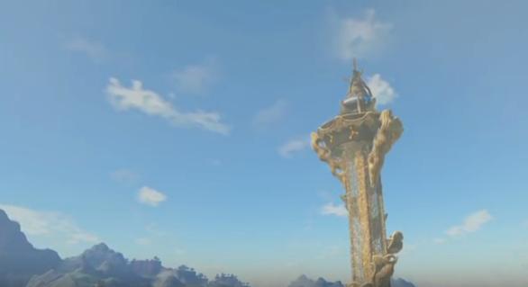 【質問】『ゼルダの伝説 ブレス オブ ザ ワイルド』最初の塔でダイブするとゲームオーバーするんだけど…誰か助けて…