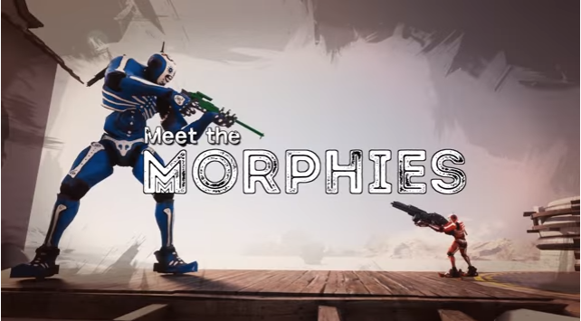 【期待】ロボット達が互いの質量を奪い合う!?癖が強すぎるTPS『Morphies Law』が面白そうだと話題に!発売が楽しみだな!!!