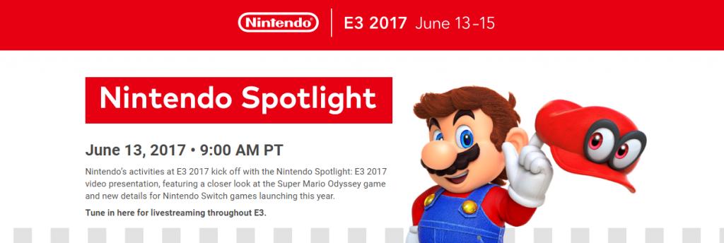 【朗報】「E3 2017 nintendo spotlight」は「ニンテンドーダイレクト」のようにテンポ良い放送になる見込み!さらにツリーハウスで追加情報もあるぞ!