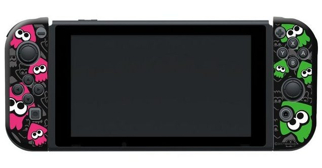 【速報】キーズファクトリーから『スプラトゥーン2』デザインのジョイコンカバーが7月21日(金)に発売決定キタ━━━━(゚∀゚)━━━━!!