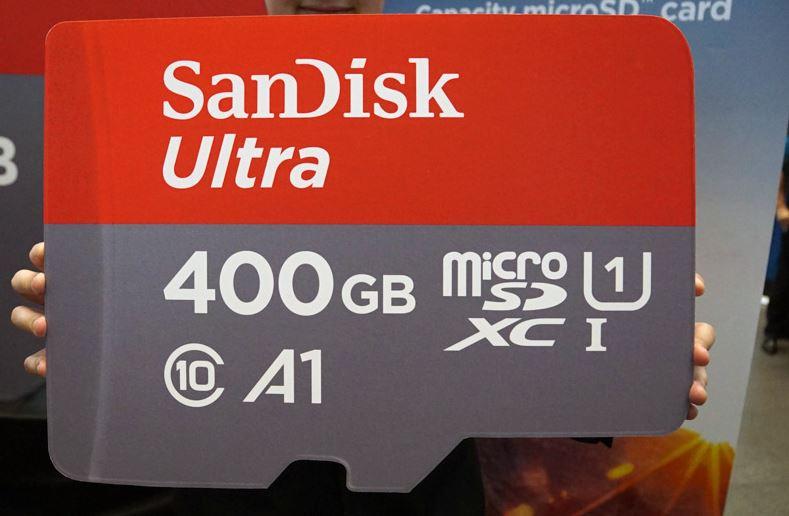 【必見】SanDiskが世界初「400GBの大容量microSDXCカード」を発表!これ1枚あればニンテンドースイッチのヘビーユーザーも満足だな!!