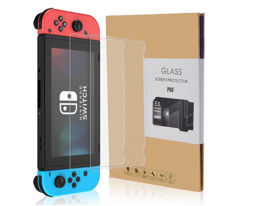 【レビュー】CHOETECH製『Nintendo Switch 任天堂 ガラスフィルム 保護フィルム【2枚セット】』を試してみた!!